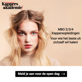 Website Nederlandse Kappersakademie